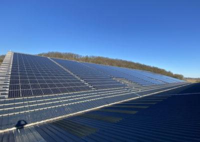 Réalisation KBE Energy pour la Ferme de Ligogne : Repowering de toiture photovoltaïque
