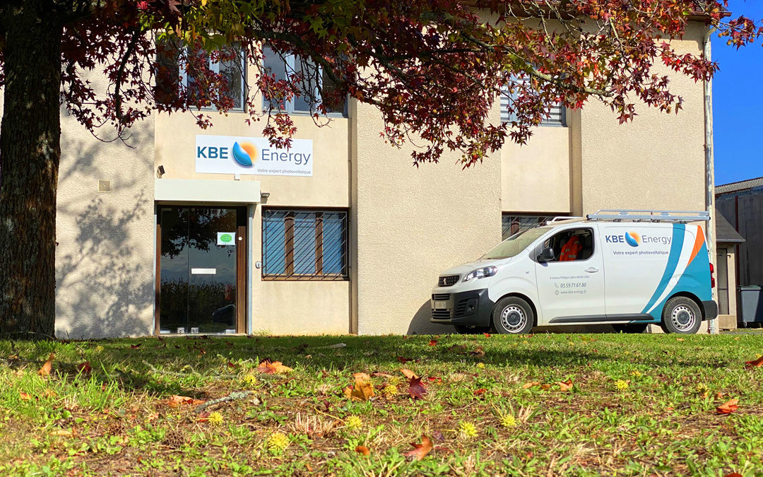 KBE Energy - Expert photovoltaïque - Nouveau siège administratif