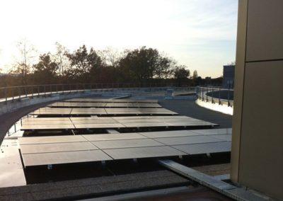 Réalisation KBE Energy pour Téréga : un toit solaire